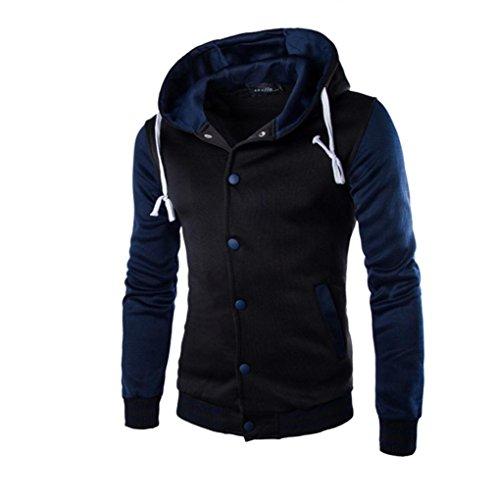 tonsee-hommes-manteau-hiver-slim-hoodie-chaud-hooded-sweatshirt-asie-m-marine