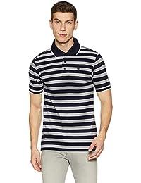 Amazon Brand - Symbol Men's Striper Polo