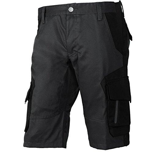 FHB® Herren Arbeits-Hose Shorts kurz Wulf Anthrazit/Schwarz versch. Größen Baumwolle Polyester viele Taschen, 54 - Große Polyester-tasche