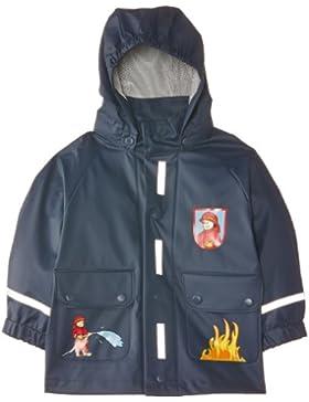 Playshoes Rain Coat Fireman, Waterproof - Chaqueta de manga larga para niña