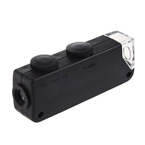 Cikuso 60x 100x Lupa miniscopio Zoom LED Portatil