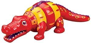 B. Los juguetes Bx1260Gt - Cocodrilo Cabassa / Clak Jamboo Ree cocodrilo giratoria