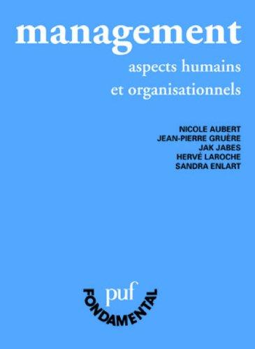 Management : Aspects humains et organisationnels
