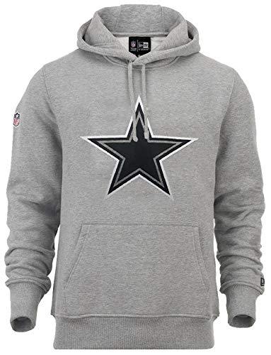 New Era NFL Dallas Cowboys Fan Pack Hoodie, grau, L - Sweatshirts Für Cowboys Nfl Männer
