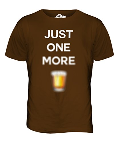 CandyMix Just One More Kurzer Herren T Shirt Braun