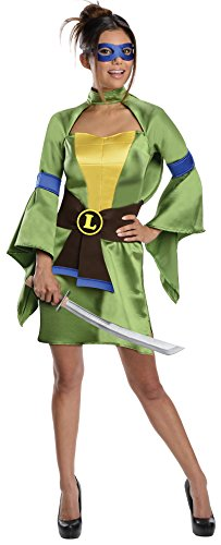 Mutant Ninja Kostüm Teenage Turtles Sexy - T.M.N.T. Sexy Leonardo Kimono Costume Adult X-Small