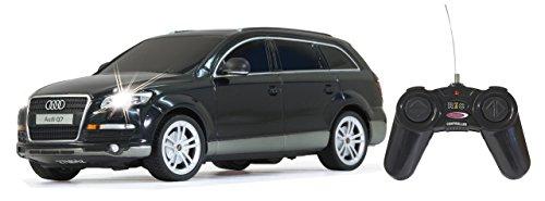 Jamara 400080 - Audi Q7 Veicolo, Scala 1:24, Nero Matallico