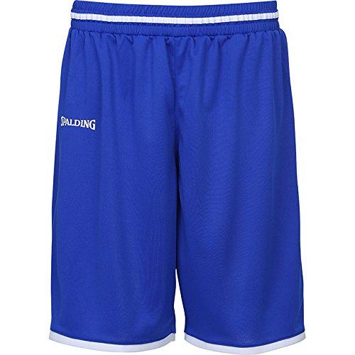 Spalding Herren Move Shorts, royal/Weiß, L