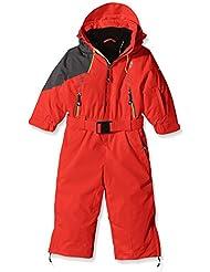 Degré 7Kid Ortler–Traje de esquí infantil, traje, color Incandescente, tamaño 24 meses