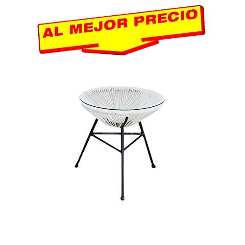 mesa-de-jardn-de-diseo-color-blanco-y-acero-con-tiras-de-polipropileno-de-color-blanco-y-la-mesa-de-