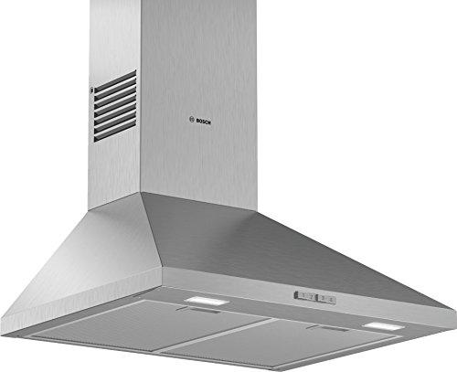 Bosch Serie 2 DWP64BC50 hotte 360 m³/h Monté au mur Acier inoxydable C - Hottes (360 m³/h, Conduit, E, A, C, 66 dB)