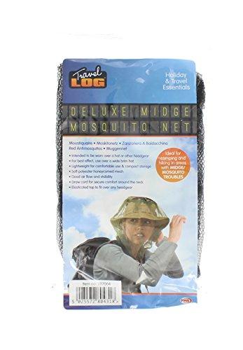418irNjWIGL - Mosquito Midge Insect Head Net Hat Mesh Face Protector Travel Camping Fishing UK