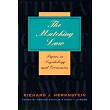 The Matching Law: Papers in Psychology and Economics by Richard J. Herrnstein (2000-05-05)