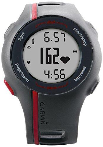 garmin-forerunner-110-montre-gps-course-a-pied-avec-moniteur-de-frequence-cardiaque-gris-rouge-recon