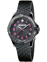 Wenger Damen-Armbanduhr Squadron Lady Analog Quarz Silikon 01.0121.105