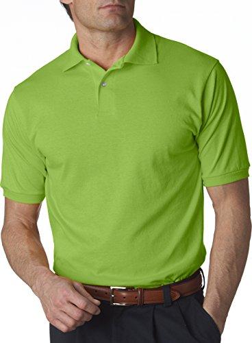 Hockey Symbol auf American Apparel Fine Jersey Shirt Kiwi