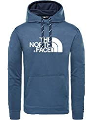The North Face Hoodie Sudadera con Capucha Surgent Halfdome, Hombre, Urban Navy Heather, M