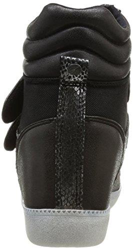 Kaporal Shaundra, Baskets mode femme Noir (8 Noir)