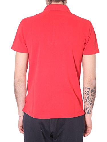 Emporio Armani Herren Poloshirt Red