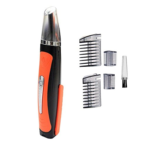 Tondeuse électrique haute précision 6 hauteurs barbe cheveux nez