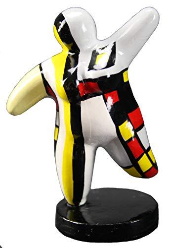 Nana Mini (Hommage an Niki de Saint Phalle - Skulptur Figur Dicke Frau Nana Molly Mini)