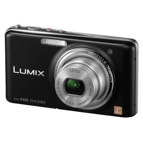 Panasonic Lumix FX-78 Point & Shoot Camera (Black)