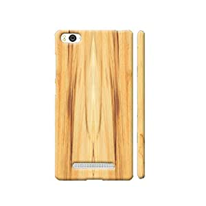 Clapcart Wooden Designer Printed Back Cover for Xiaomi Redmi 3S - Wooden Color