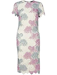 1578a15b9b Marks and Spencer Marks   Spencer Swirl Lace Short Sleeve Bodycon MIDI  Occasion Dress Wedding Races