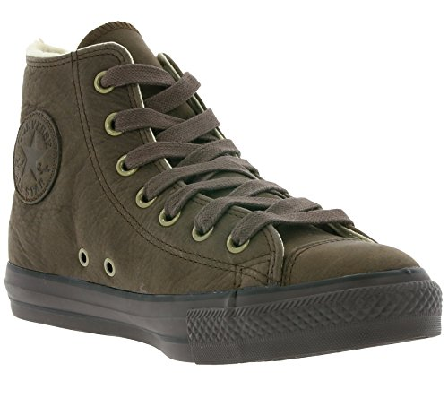 Cook N Home Chuck Taylor All Star Adulte Shearling Hi - Sneaker, , taglia (marrone)