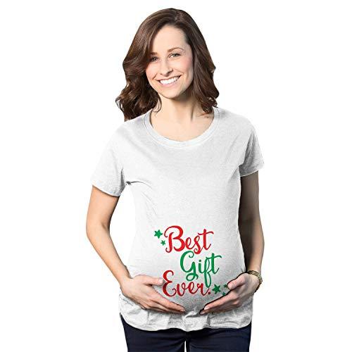 Crazy Dog Tshirts - Maternity T Shirt Funny Christmas Bump Pregnancy T