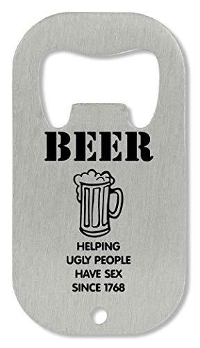 xx Beer Helping Ugly Flaschenöffner