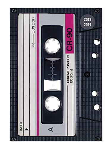 Diario agenda scuola collegetimer 'Musicassetta' 2018/2019 - Giornaliera - 352 pagine - 15x21 cm