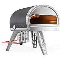 ROCCBOX Horno Portátil de Exteriories para Pizza - Calentado a Gas o a Leña, Doble Combustible, Horno de Exteriores para Pizza de Fuego y Piedra