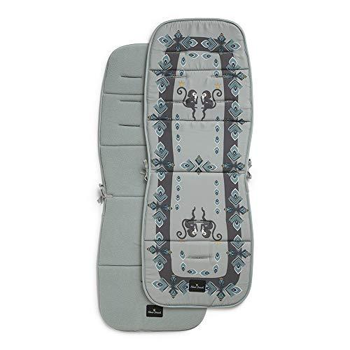 rwagen-Sitzauflage CosyCushion für Jungen und Mädchen, Accessoires für frischgebackene Mütter (Everest Feathers) ()