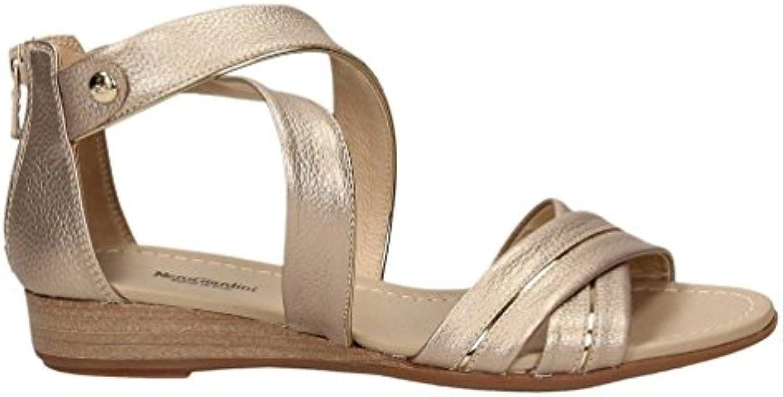HIGHXE Las Mujeres Remache de Las señoras Punta Abierta áspera Tacones Altos Sandalias de Verano Zapatos de Moda... -