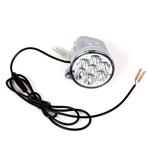 12V LED Vorderlicht für Mach1 Elektro E-Scooter Modell-3 und Modell-5/Licht lampe