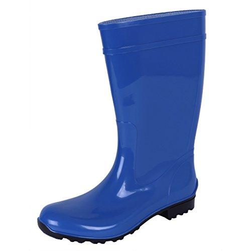 Lemigo Ladies, Blue, PVC, Wellies, Wellington, Rain Boots ILSE