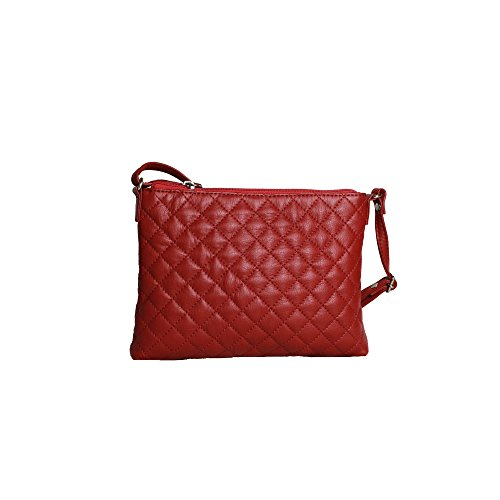 Eastern Counties Leather - Rose - Borsa a mano trapuntata - Donna Viola