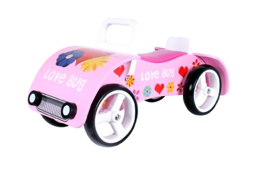 'Love Bug' Wooden sit on / ride on car