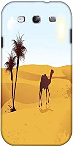 Snoogg Illustration Of Camel Walking Designer Protective Back Case Cover For ...