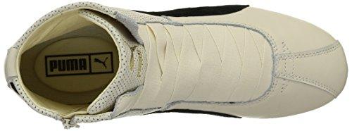 Puma - Eskiva Mid, Sneaker Donna Bianco (Blanc (Whisper White/Black))