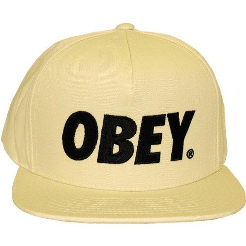Imagen de obey   de béisbol  para hombre beige beige