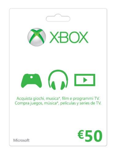 Xbox Live - Gift Card 50 Euro