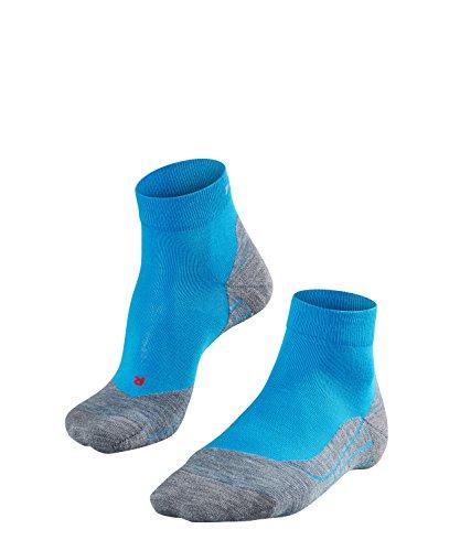 FALKE Herren Laufsocken RU4 Short, Baumwollgemisch, 1 Paar, Blau (Osiris 6407), Größe: 44-45