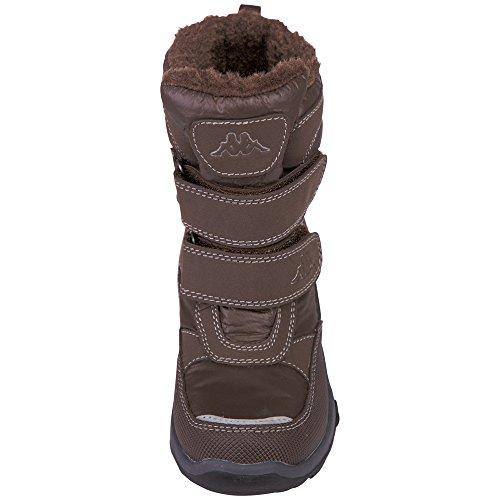 Kappa Unisex-Kinder Tundra Tex Kids Kurzschaft Stiefel Braun (5050 brown)