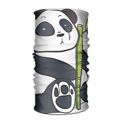 Preisvergleich Produktbild Uosliks Panda with Bamboo Headwear Bandanas Seamless Men Women Headwear 12-in-1 Stretchable Magic Scarf Sturmhaube