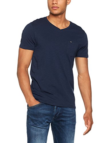 O'Neill Herren Jack's Base v-Neck T-Shirt, Ink Blue, L