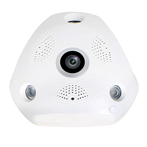 EDSSZ® VR WIFI IP Dome Camera VR Panoramique Fisheye 360 degrés 1.3 mégapixel 960P HD Lunettes de réseau VR Caméra CCTV Jour / Nuit Vision EDS-VR960P