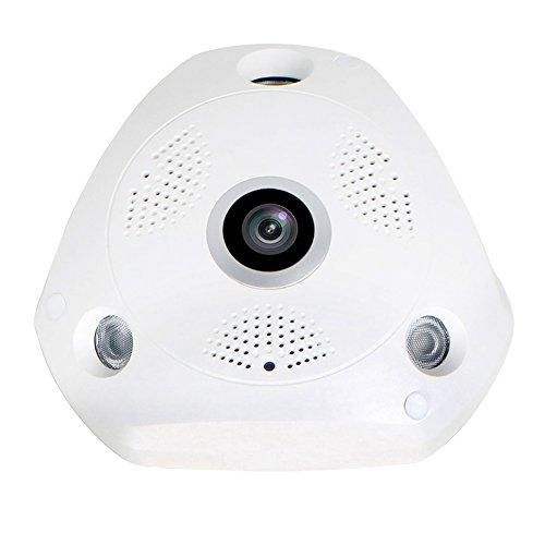 Edssz® vr wifi ip camera dome vr panoramica fisheye 360 gradi 1.3 megapixel 960p hd network eyewear vr telecamera cctv giorno / notte visione eds-vr960p