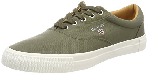 Gant Mens Hero Sneaker Green (kalamata Green)